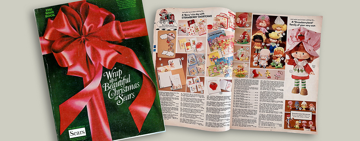 1981 Sears Catalog Christmas Wish Book printed catalog