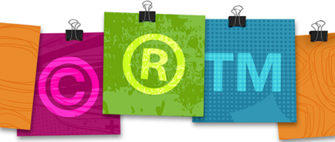Branding, copyright, trademark
