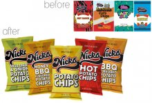 Nicks Chips before and after